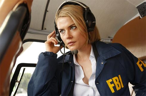 "Rachael Taylor in a scene from ""Crisis."""