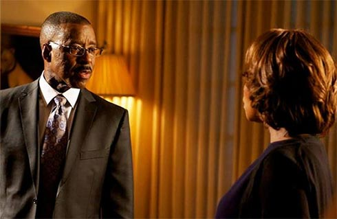 Courtney B. Vance and Alfre Woodard in State of Affairs