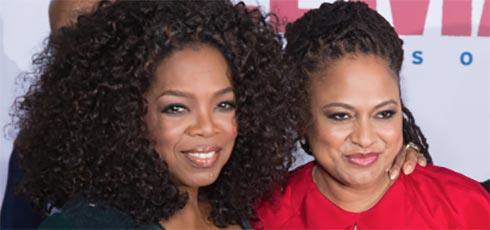 Oprah and Ana DuVernay