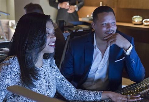 Taraji P. Henson and Terrance Howard in Empire