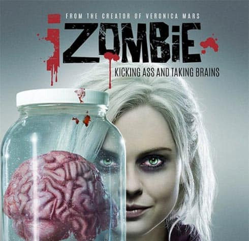 Rose McIver stars in iZombie
