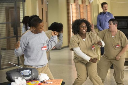 A scene from OITNB