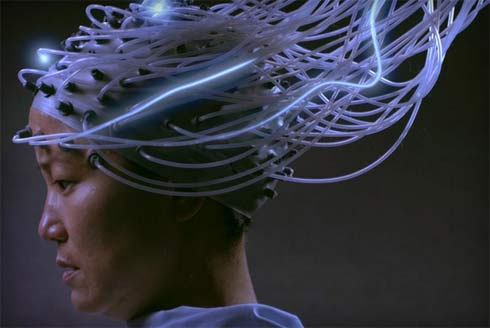 Still from the film Advantageous