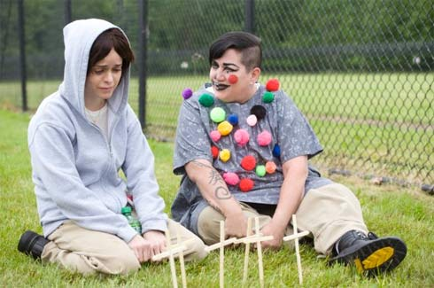 "Taryn Manning and Lea DeLaria in the ""Mother's Day"" episode of Orange is the New Black"