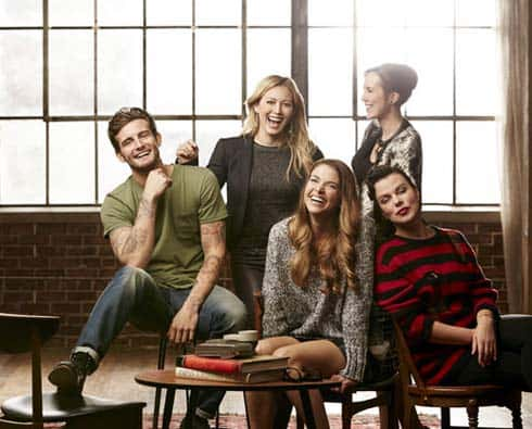 The main cast of Younger