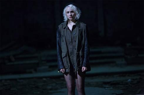 Riley, played by Tuppence Middleton, is Icelandic. She's curently living in England.