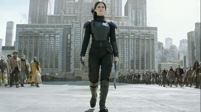 Jennifer Lawrence leading the way in Mockingjay Pt. 2