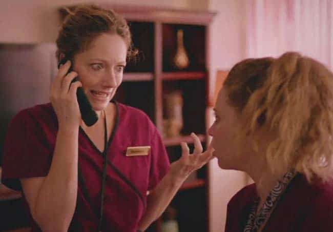 Judy Greer and Natasha Lyonne in Addicted to Fresno