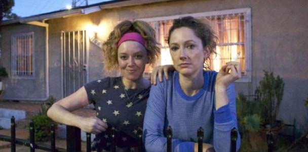 Natasha Lyonne and Judy Greer in Addicted to Fresno