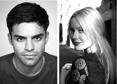 Sean Teale and Georgina Haig