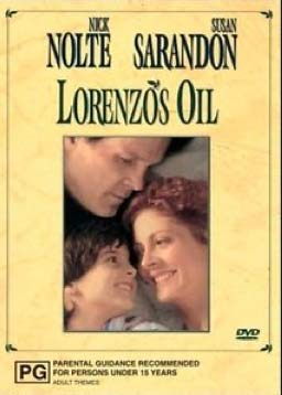 The poster for Lorenzo's Oil