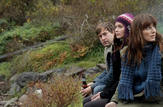 """Mark Duplass, Emily Blunt and Rosemary DeWitt in a scene from """"Your Sister's Sister."""""""