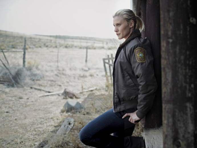 Katee Sackhoff plays Deputy Vic Moretti