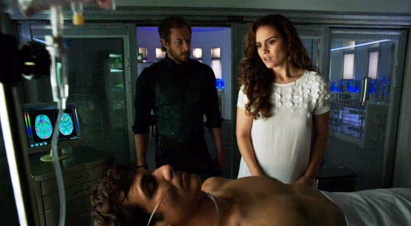 Alycia sees her husband in a coma