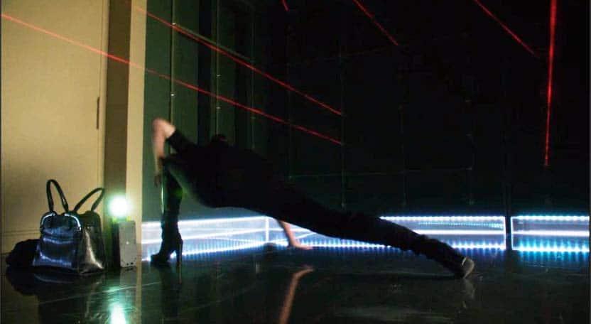 Bo evades laser lights