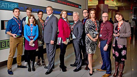 The W1A cast