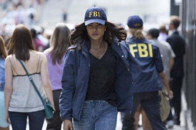 Priyanka Chopra in a scene from Quantico