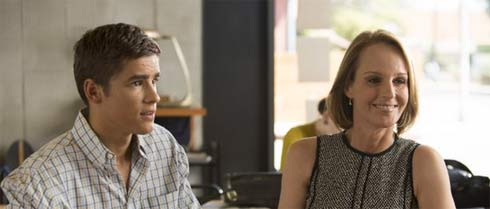 Helen Hunt, Brenton Thwaites in Ride