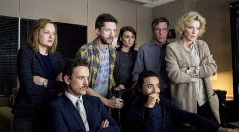 Still of Dennis Quaid, Cate Blanchett, Elisabeth Moss, Topher Grace and David Lyons in Truth