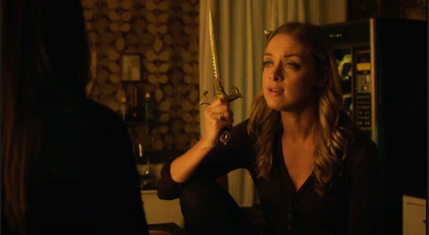 Tamsin has a dagger