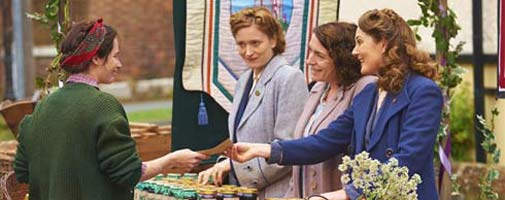 scene from home fires