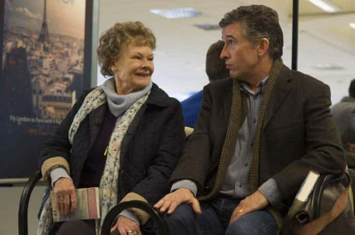Judy Dench and Steve Coogan in Philomena