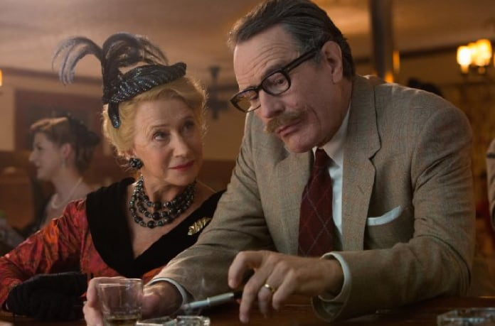 Helen Mirren and Bryan Cranston in Trumbo