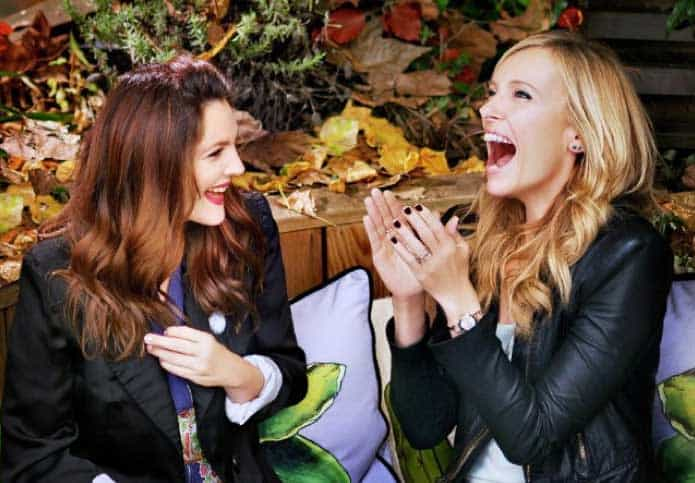 Drew Barrymore and Toni Collette in a scene from Miss You Already