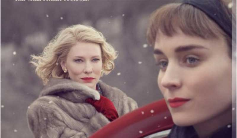 Cate Blanchette and Rooney Mara in Carol
