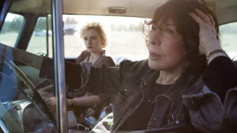 and Lily Tomlin in Grandma