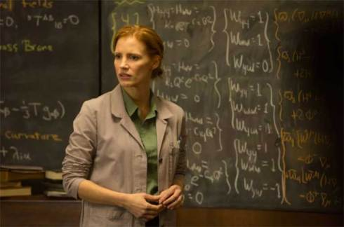 Jessica Chastain as Murph in Interstellar