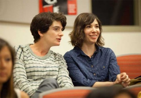 Gaby Hoffmann and Carrie Brownstein in Transparent