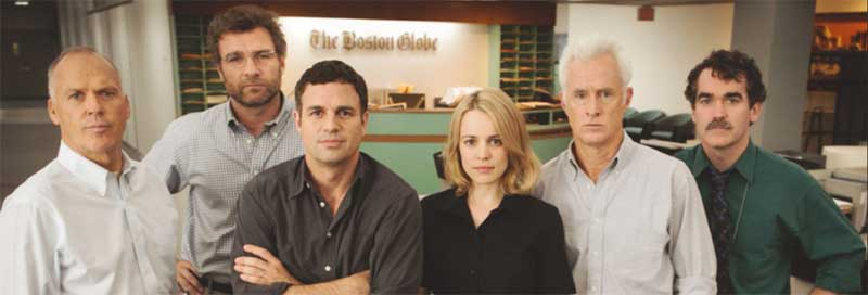 "the cast of ""spotlight"""