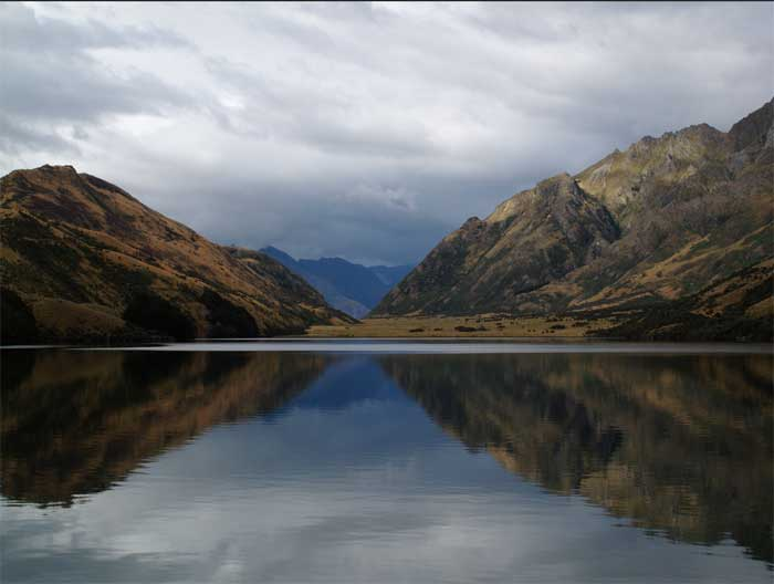 Beautiful scenes from New Zealand provide relief from the dark story told in Top of the Lake.
