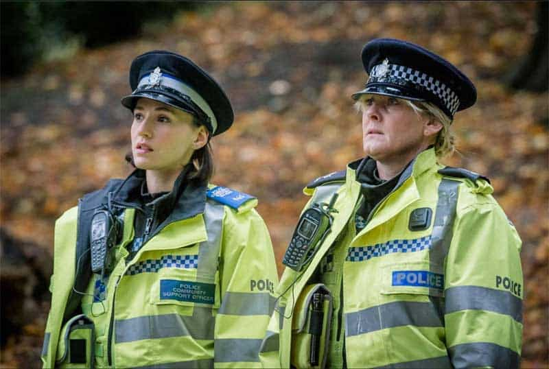 Charlie Murphy and Sarah Lancashire in Happy Valley