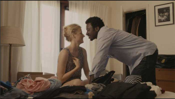 Mamie Gummer and Anthony Okungbowa in Echo Park