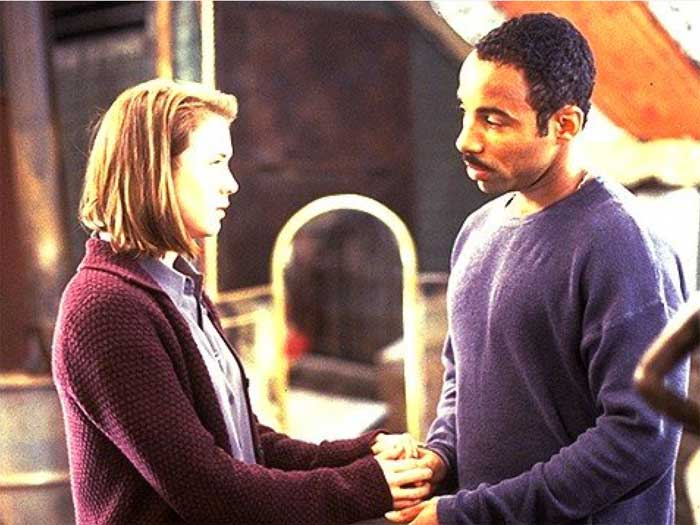 Renée Zellweger and Allen Payne in A Price Above Rubies