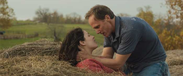 """Joanne Kelly and Neal Huff in """"Runoff"""""""