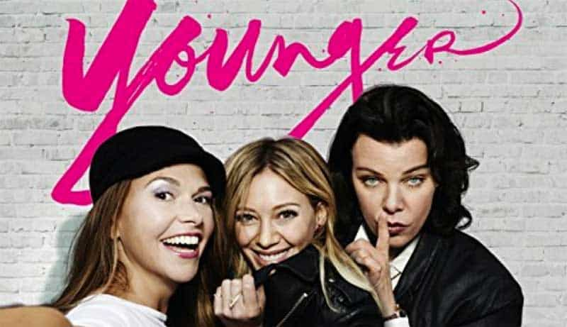 Sutton Foster, Hilary Duff, Debi Mazar in Younger