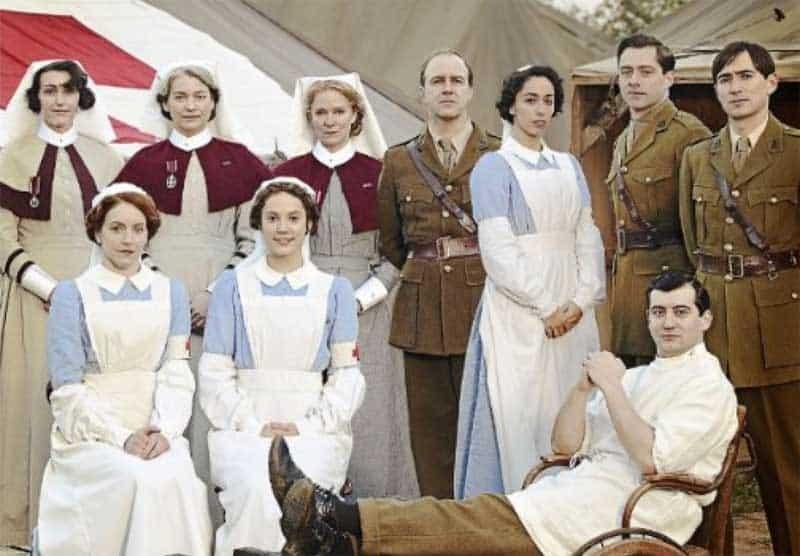 cast of The Crimson Field