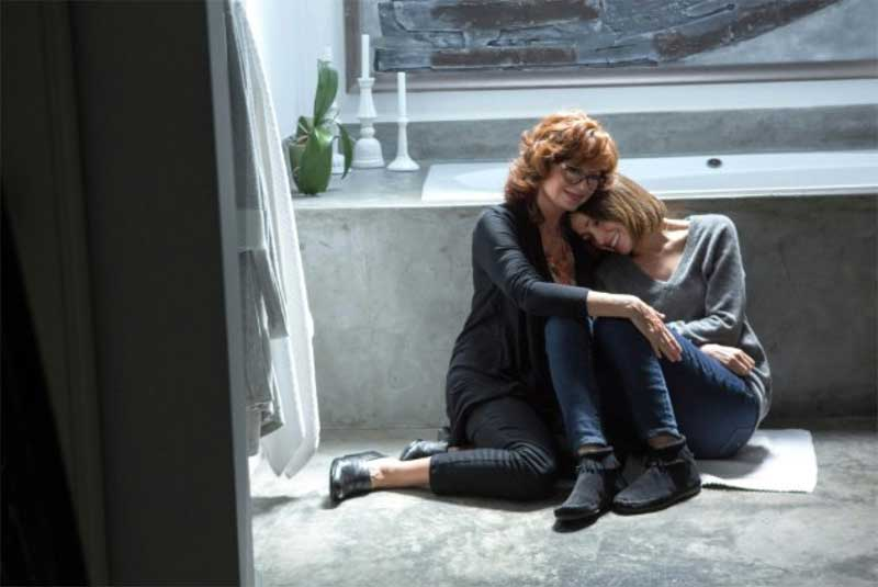 Susan Sarandon and Rose Byrne in The Meddler