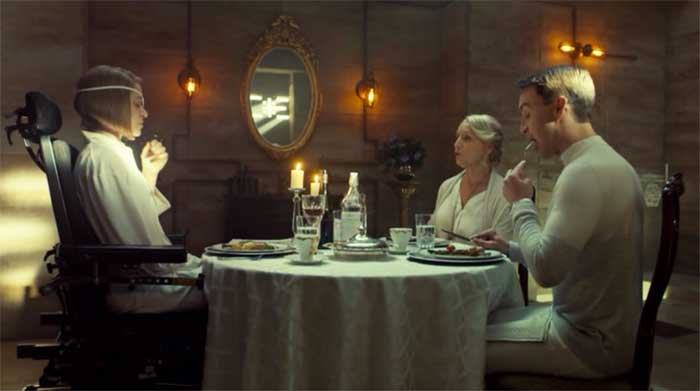 Tatiana Maslany, Rosemary Dunsmore and Ari Millen in Orphan Black