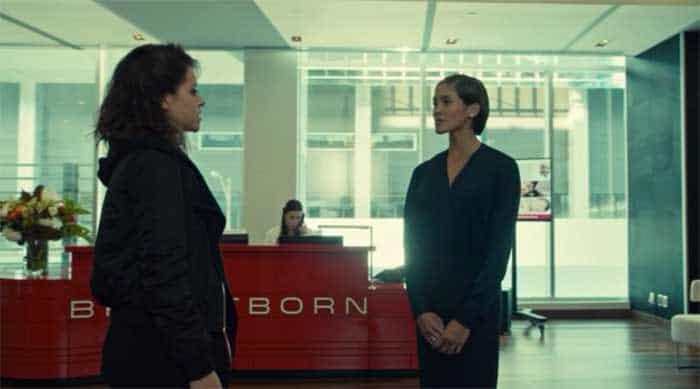 Tatiana Maslany and Jessalyn Wanlim in Orphan Black