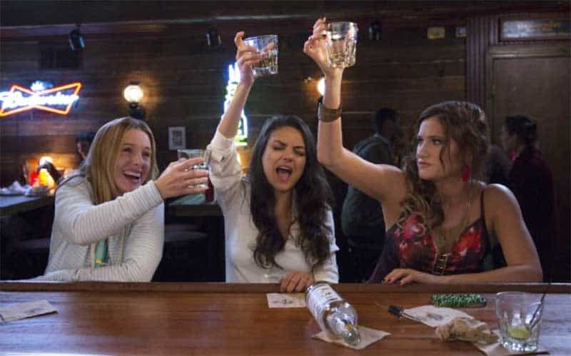 Mila Kunis, Kristen Bell and Kathryn Hahn in Bad Moms