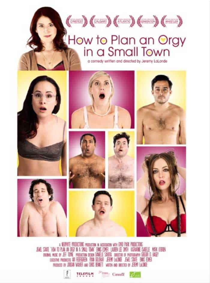 The poster for How to Plan an Orgy in a Small Town