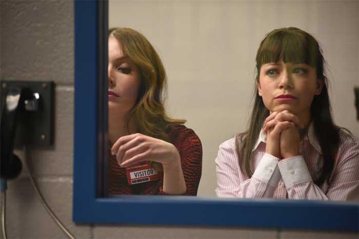 Lauren Hammersley and Tatiana Maslany in Orphan Black