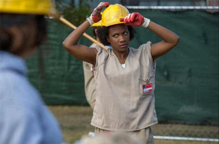 Vicky Jeudy in Orange is the New Black