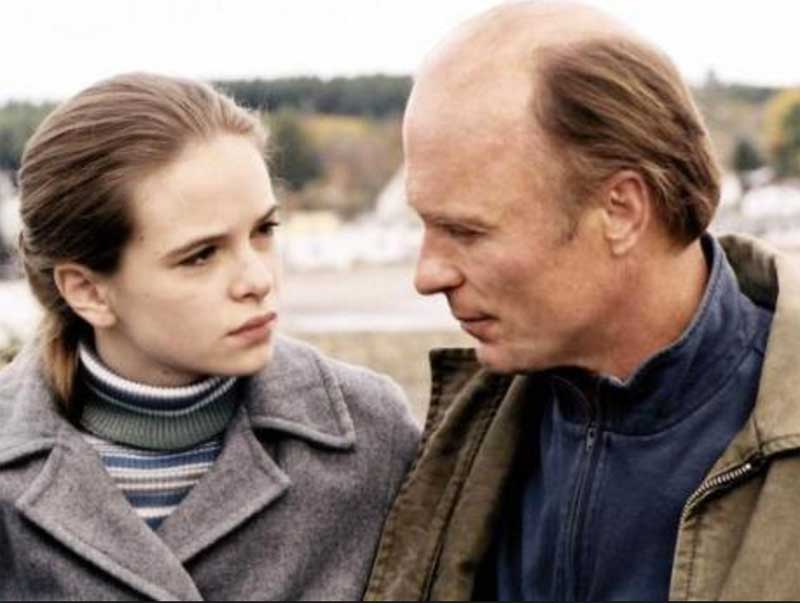 Danielle Panabaker and Ed Harris in Empire Falls