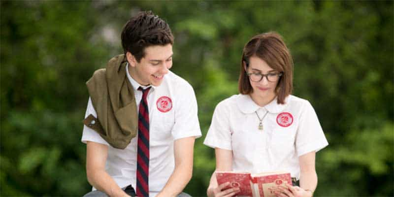 Emma Roberts and Nat Wolff in Ashby