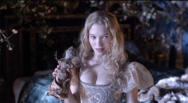Léa Seydoux in Beauty and the Beast